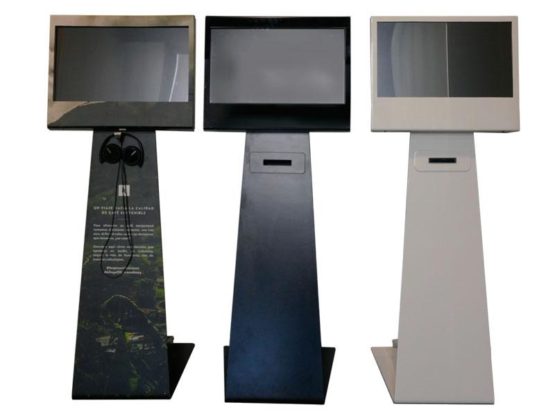 IK22 x3 - Kiosko vertical táctil Ik22